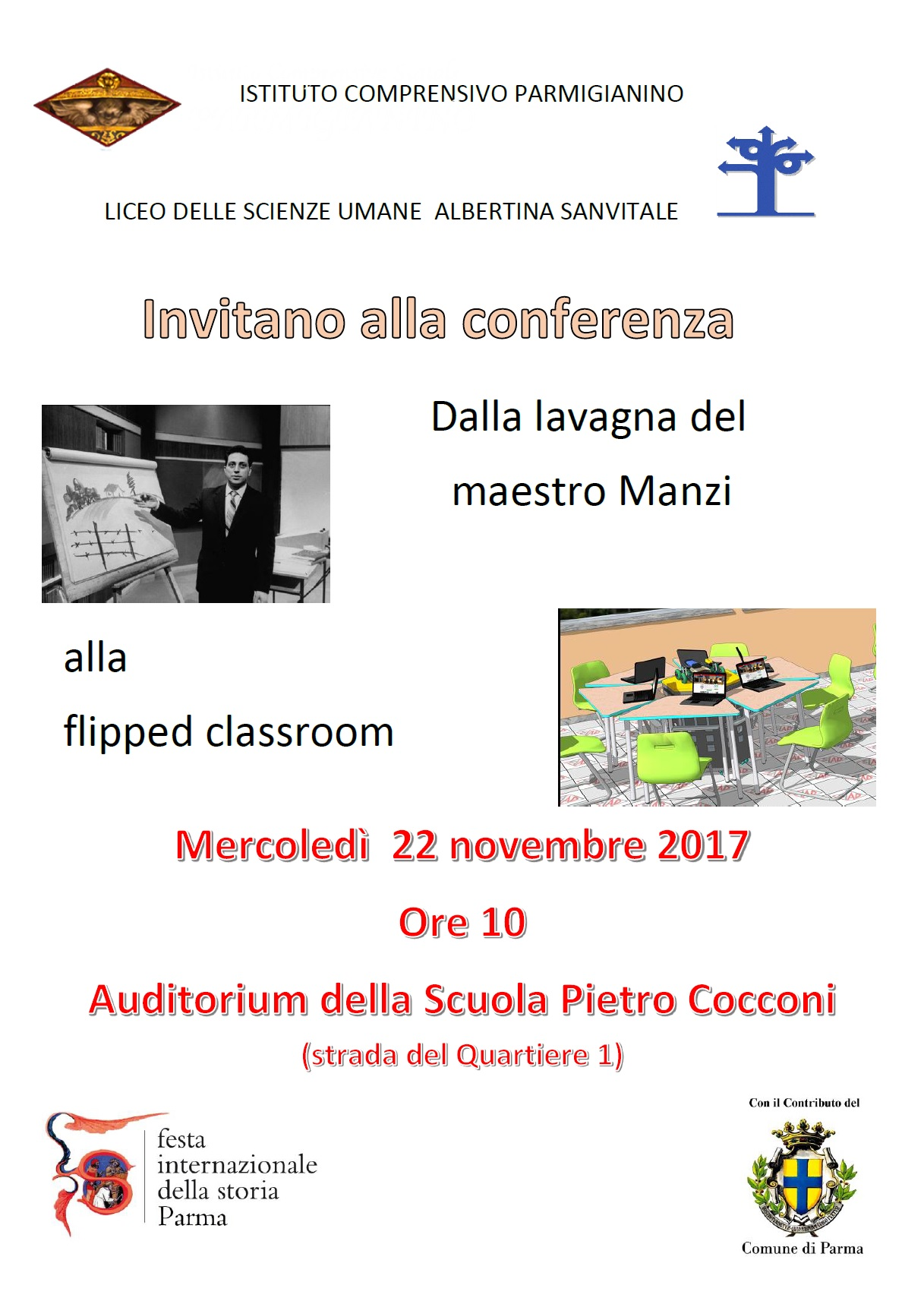 Conferenza Flipped